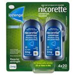 Nicorette Cooldrops Lozenge 2mg 80