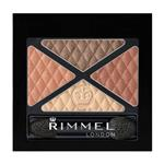 Rimmel Shadow Glam Eyes Quad Smokey Brun