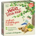 Heinz Little Kids Muesli Fingers Fruit Salad 6 Pack