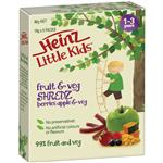 Heinz Little Kids Shredz Berries Apple Veg 5 Pack