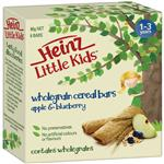 Heinz Little Kids Whole Grain Cereal Bars Apple Blueberry 6 Pack