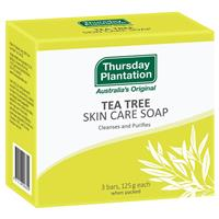 Thursday Plantation Tea Tree Soap 3x125g