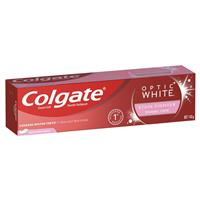 Colgate Optic White Enamel White Sparkling Mint Whitening Toothpaste with hydrogen peroxide 140g