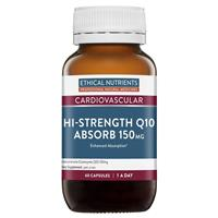 Ethical Nutrients Q10 Absorb 150mg 60 Capsules