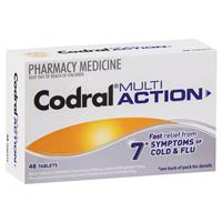 Codral Multi Action Tablets 48
