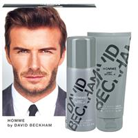 David Beckham Homme Shower Gel & Body Spray Set