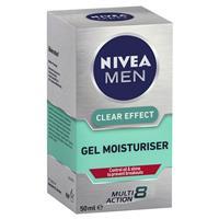 Nivea for Men Clear Effect Gel Moisturiser 50ml