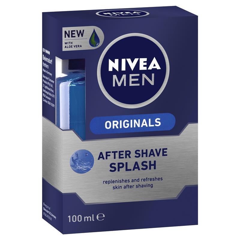 buy nivea for men original after shave splash 100ml online