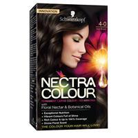 Schwarzkopf Nectra Colour 4-0 Dark Brown