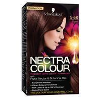 Schwarzkopf Nectra Colour 5-68 Chestnut brown
