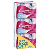 Carefree Barely There Liners Triple Pack 3x42