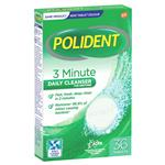 Polident Denture Cleanser Fresh Active Tablets 36