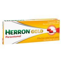 Herron Gold Paracetamol 20 Capsules