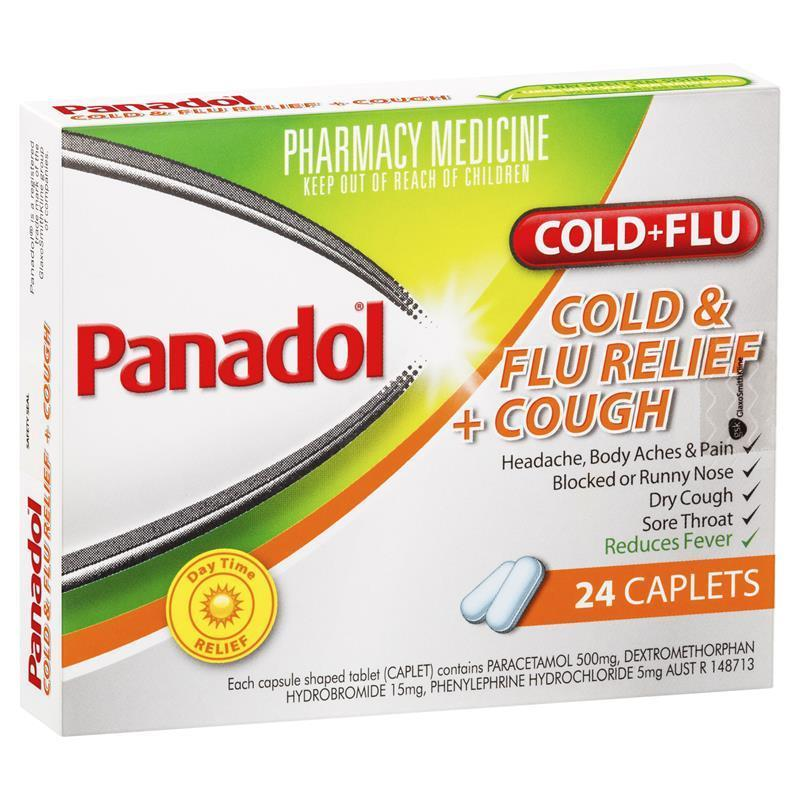 panadol cold and flu extra