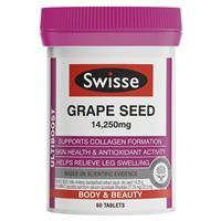 Swisse Ultiboost Grape Seed 14,250mg 60 Tablets