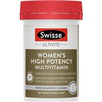 Swisse Women's Ultivite Power 40 Tablets
