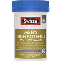 Swisse Men's Ultivite Power 40 Tablets