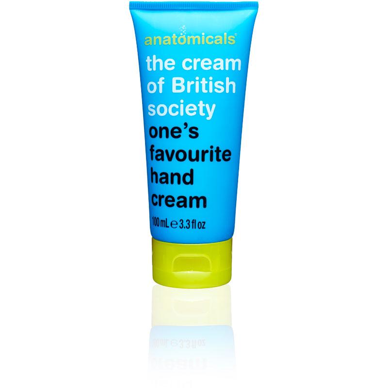 Image of Anatomicals The Cream Of British Society Hand Cream 100ml