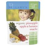 Bellamy Organics Pineapple Apple and Banana Snacks