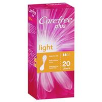 Carefree Plus Light 20 Liners