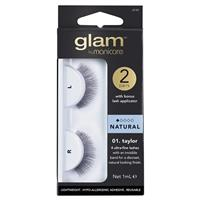 Manicare Glam Taylor Lashes 2 Pack With Applicator