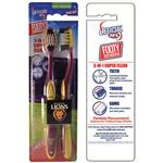 AFL Toothbrush Brisbane Lions Twin Pack