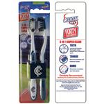 AFL Toothbrush Carlton Blues Twin Pack