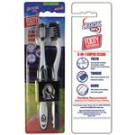 AFL Toothbrush Collingwood Magpies Twin Pack