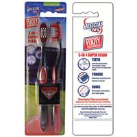 AFL Toothbrush Essendon Bombers Twin Pack