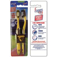 AFL Toothbrush Hawthorn Hawks Twin Pack