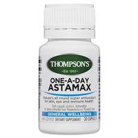 Thompson's AstaMax One A Day 6mg 30 Capsules