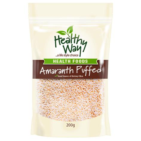how to make puffed amaranth