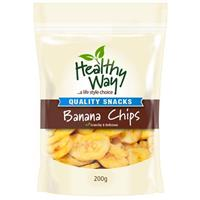 Healthy Way Banana Chips 200g