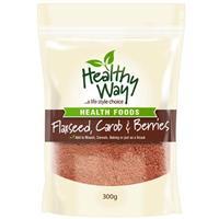 Healthy Way Flaxseed Carob & Berries 300g