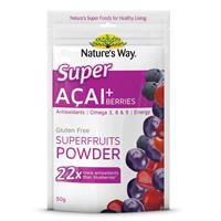 Nature's Way Super Foods Acai 50g