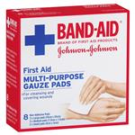 Band-Aid First Aid Gauze Pads 8