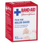 Band-Aid First Aid Rolled Gauze 5cm x 2.3m 1 Pack