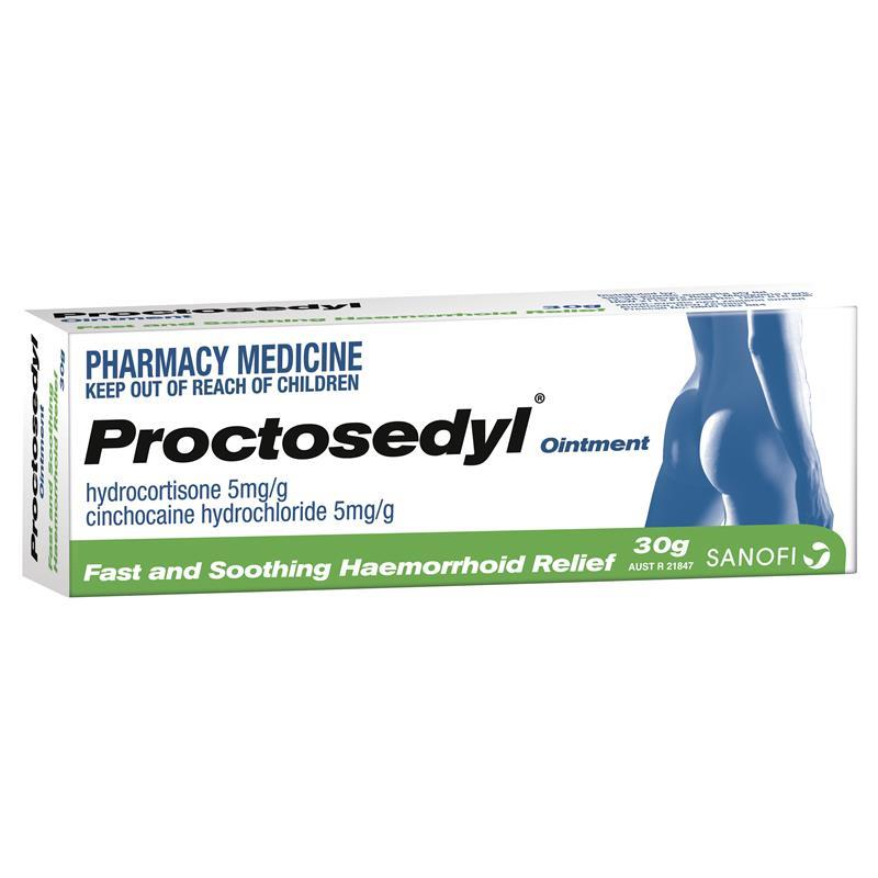 Proctosedyl Ointment 30g Limit Of One Per Order Epharmacy