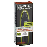 L'Oreal Men Expert Pure Power Targeted Roll On 10ml