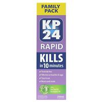 KP 24 Rapid 10 Minute Solution 250ml with Comb Family Pack