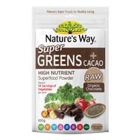 Nature's Way Super Greens Plus Cacao 100g