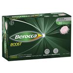 Berocca Boost 20 Effervescent Tablets