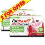 Naturopathica FatBlaster 2 For $40 VLCD Ultimate Shake Raspberry with Ketones 21 Sachets