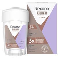 Rexona for Women Clinical Protection Antiperspirant Deodorant Gentle Dry 45ml