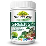 Nature's Way Super Greens Plus Kale 90 Tablets