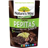 Nature's Way Super Cacao Dipped Pepitas 100g