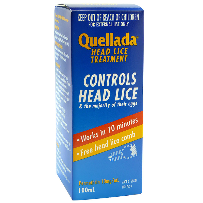 quellada head lice treatment 100ml