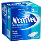 Nicotinell Mint Gum 2mg 384 Pack
