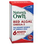 Nature's Own Red Algal Omega-3 45 Capsules