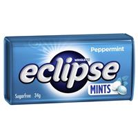 Wrigleys Eclipse Peppermint Mints